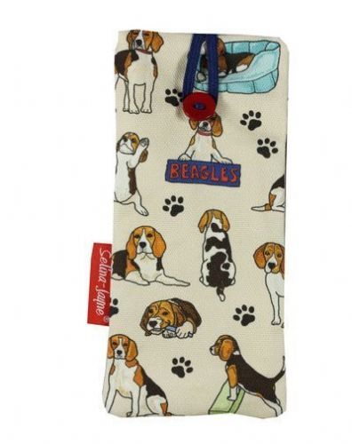 Selina-Jayne Beagles Limited Edition Designer Soft Glasses Case